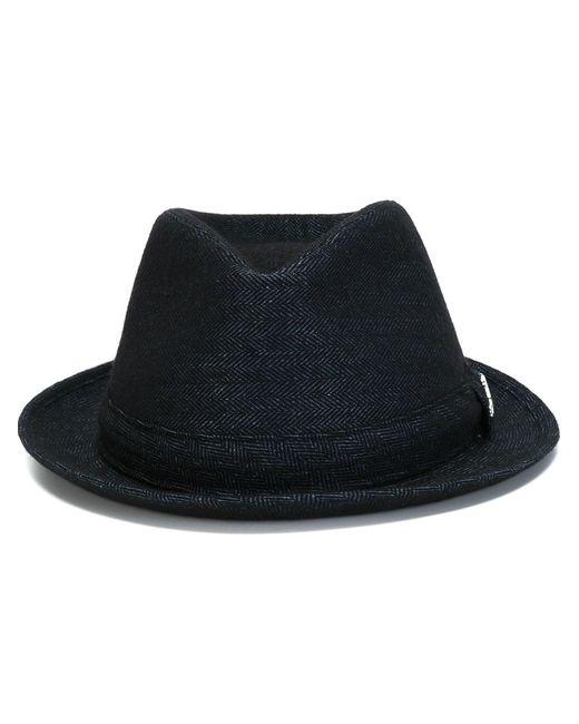 Jacob Cohёn | Мужская Синяя Шляпа-Федора