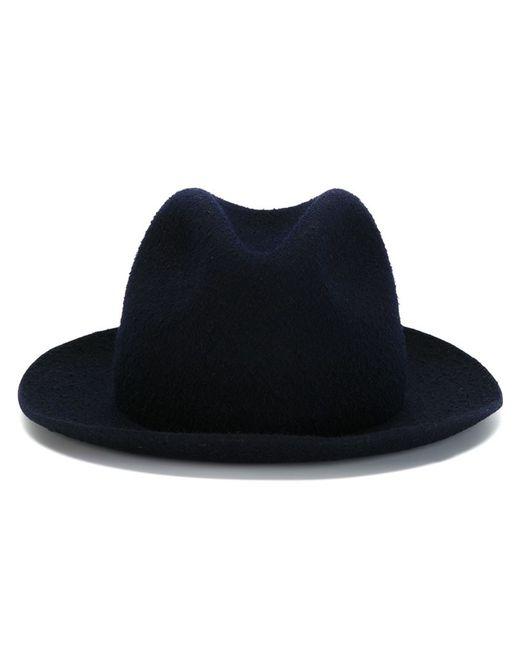 FEDERICA MORETTI | Женская Синяя Шляпа-Федора