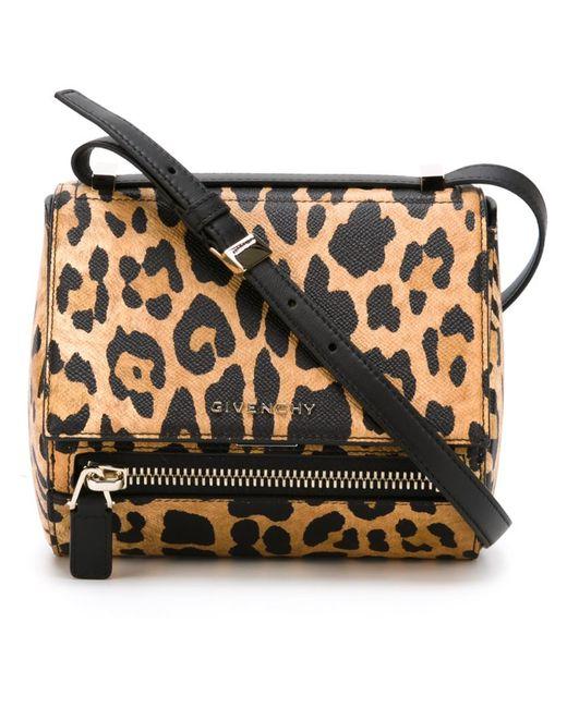 Givenchy | Женская Коричневая Сумка Через Плечо Pandora Box