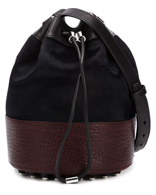 Alexander Wang   Женское Чёрный Alpa Bucket Crossbody Bag