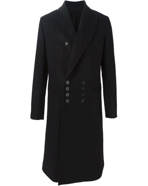 Ann Demeulemeester   Мужское Чёрный Long Coat