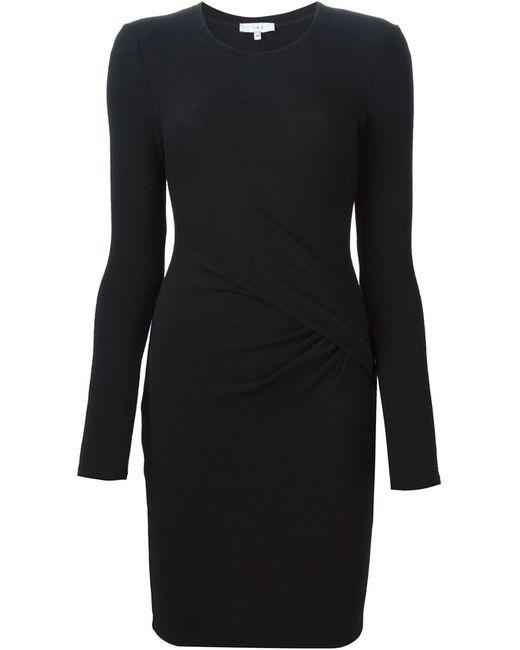 Iro | Женское Чёрный Gathered Fitted Dress
