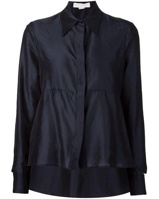 Stella Mccartney | Женская Синяя Рубашка С Вышивкой