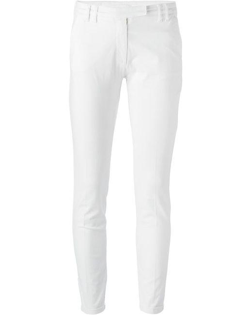 Eleventy | Мужское Белый Skinny Fit Trousers