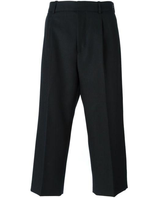 Alexander McQueen | Мужское Чёрный Cropped Trousers