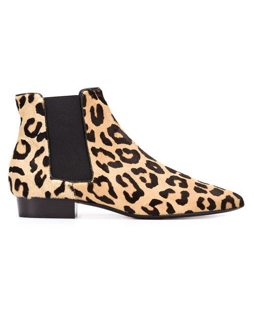 Saint Laurent | Женское Чёрный Paris Ankle Boots