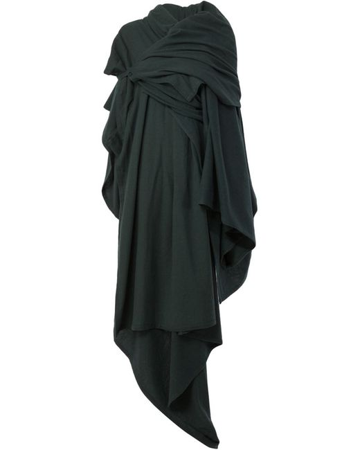 Yohji Yamamoto | Женское Draped Blanket Coat