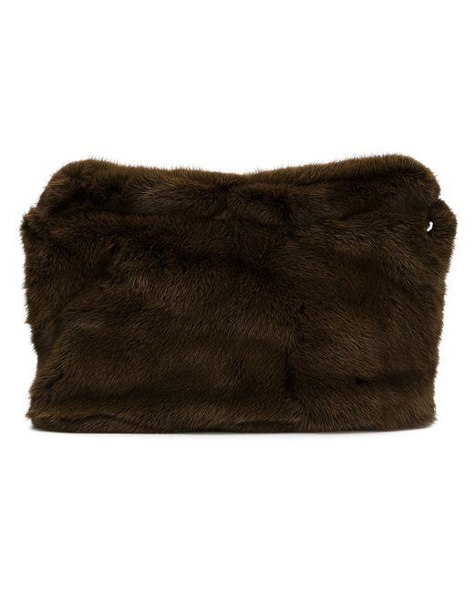 Derek Lam | Женское Коричневый Mink Fur Clutch