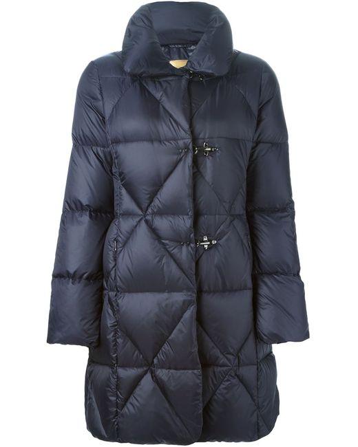 Fay | Женская Синяя Дутая Куртка