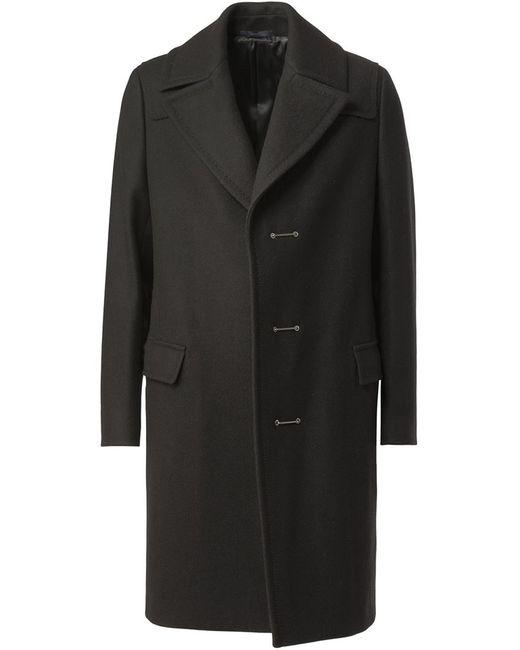 Lanvin | Мужское Чёрное Классическое Пальто