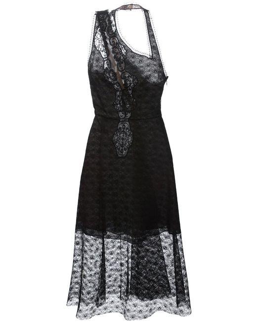 Stella Mccartney | Женское Чёрный Asymmetric Lace Dress