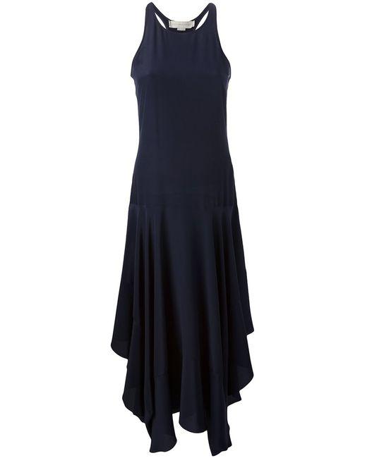 Stella Mccartney | Женское Чёрное Платье Со Спинкой Рейсер