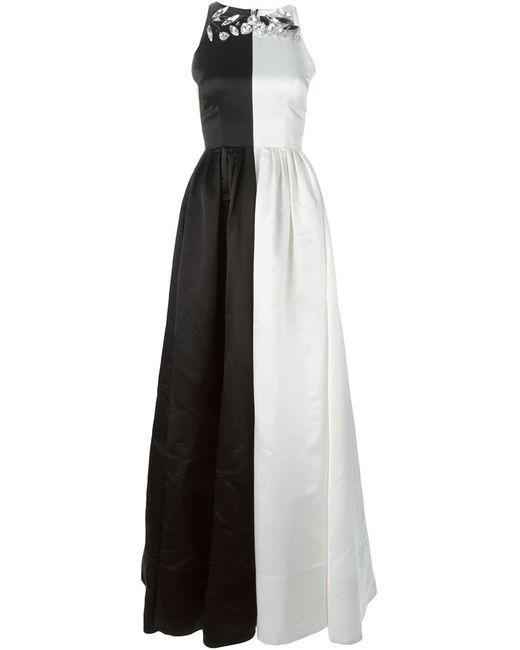 ALEX PERRY | Женское Чёрное Платье Henriette