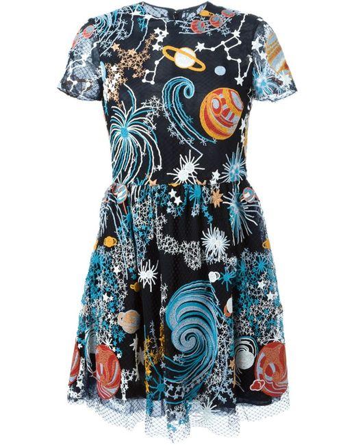 Valentino | Женское Чёрный Cosmo Dress