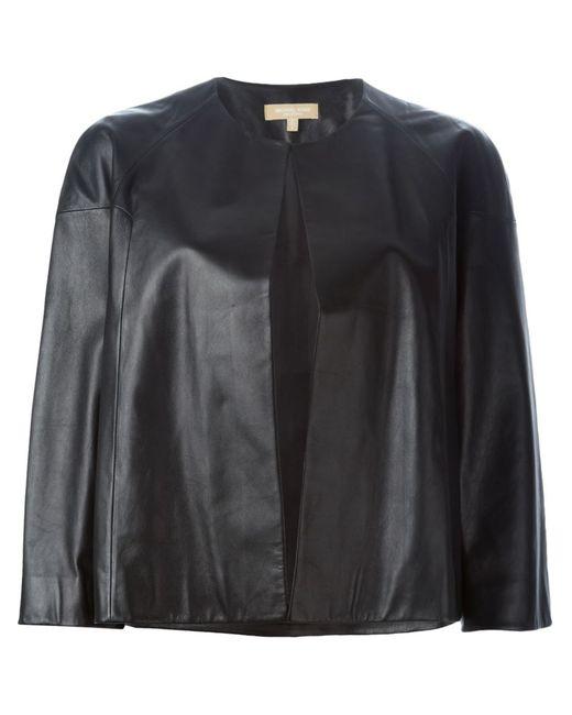 Michael Kors | Женская Чёрная Укороченная Куртка