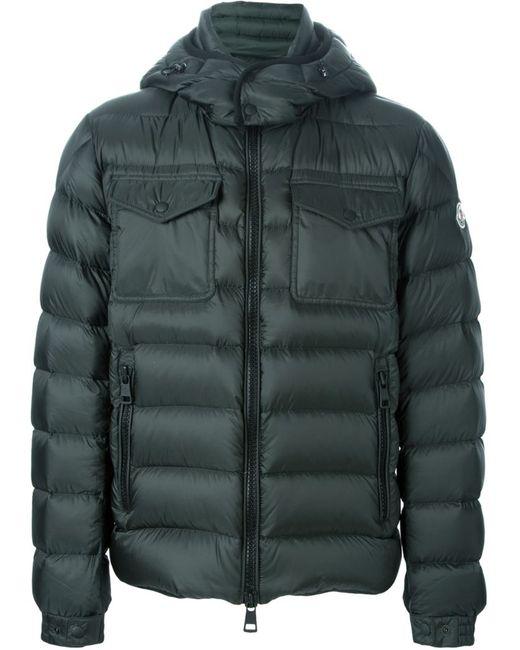 Moncler   Мужское Зелёный Edward Padded Jacket