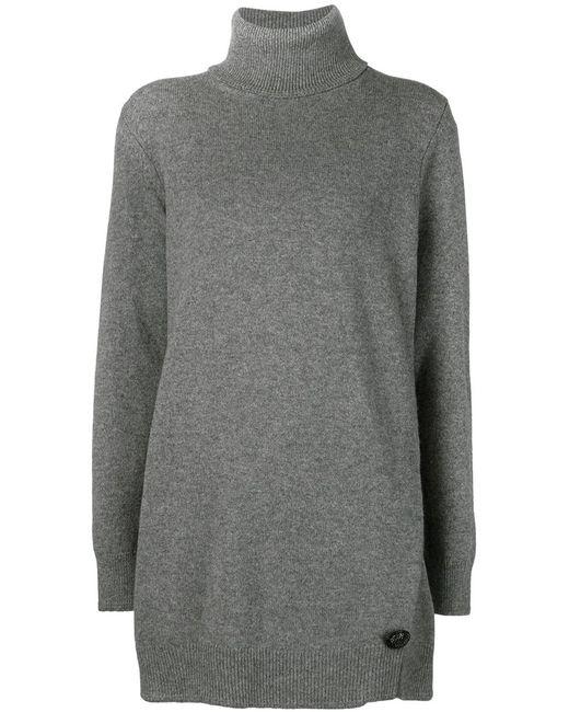 Marc Jacobs | Женский Серый Свитер С Высоким Горлом