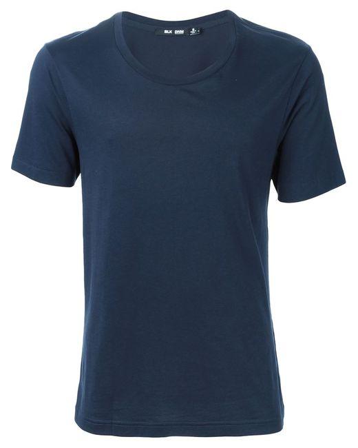 Blk Dnm   Синий Round Neck T-Shirt