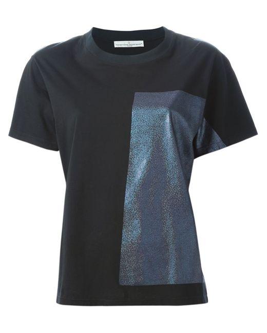 Golden Goose | Женское Чёрный Hologram Panel T-Shirt
