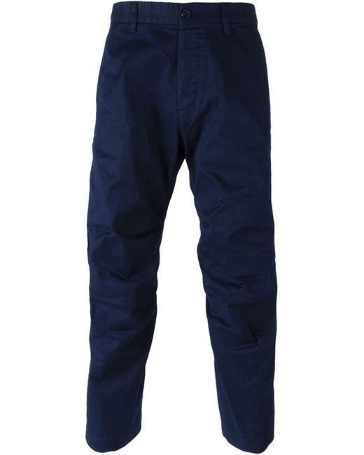 Dsquared2 | Синий Drop Crotch Trousers