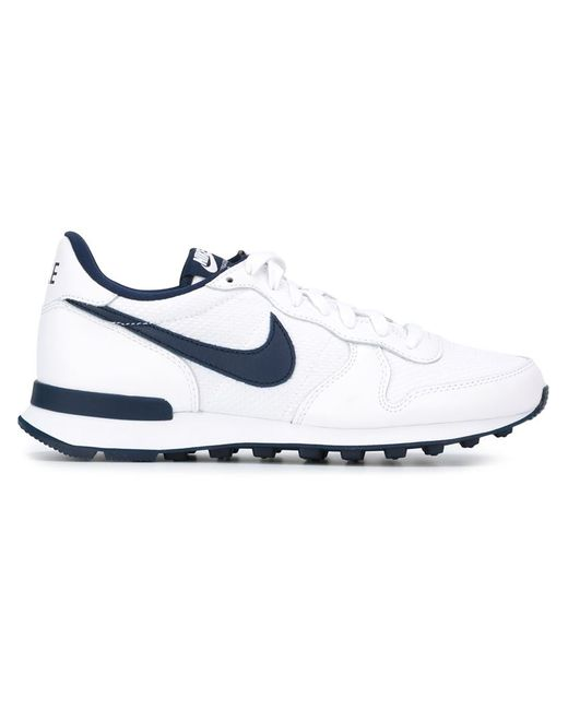 Nike | Женские Белые Кроссовки Internationalist French Open Qs