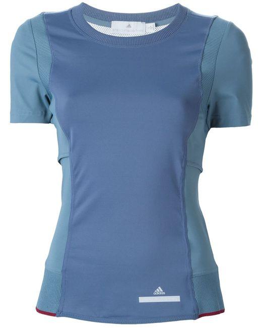 Adidas By Stella  Mccartney   Женская Синяя Футболка Run Perfect