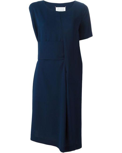 Maison Margiela | Женское Синий Asymmetric Shift Dress