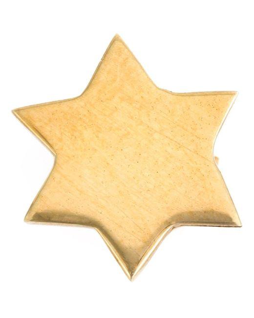 KATRINE KRISTENSEN   Женское Серебристый Star Earring