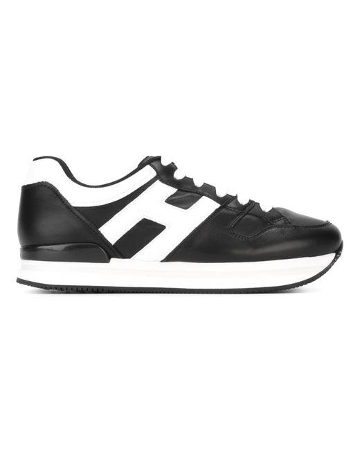 Hogan | Женское Чёрный Logo Retro Sneakers
