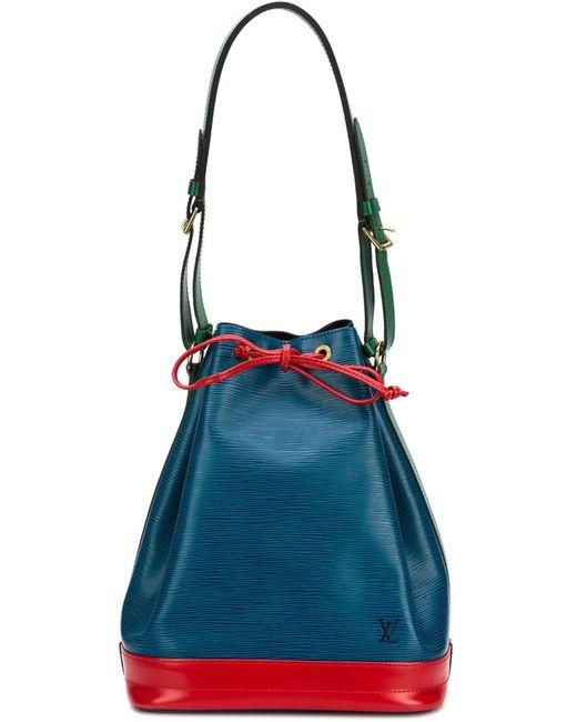 Louis Vuitton | Женское Синий Colour Block Shoulder Bag