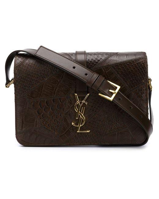 Saint Laurent   Женское Коричневый Medium Monogram Universite Shoulder Bag