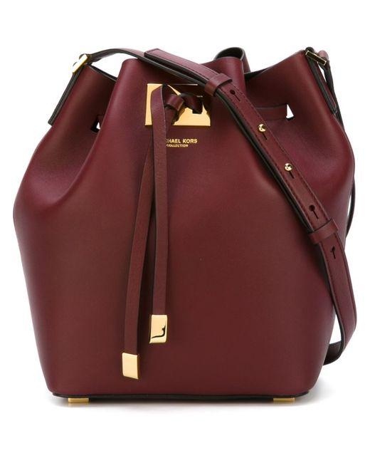 Michael Kors | Женское Красный Medium Miranda Bucket Bag