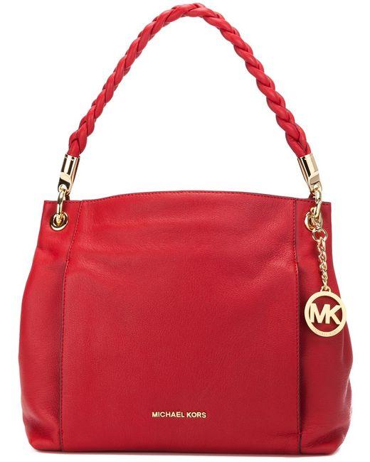 Michael Michael Kors | Женская Красная Сумка-Тоут Naomi