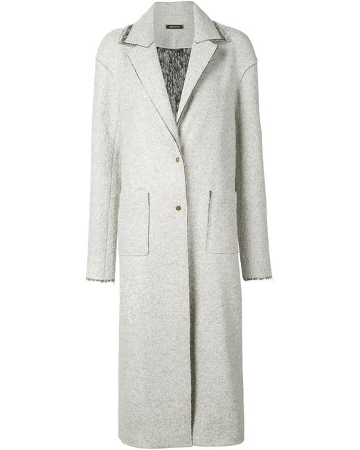 HELLESSY | Женское Серый Single Breasted Long Coat