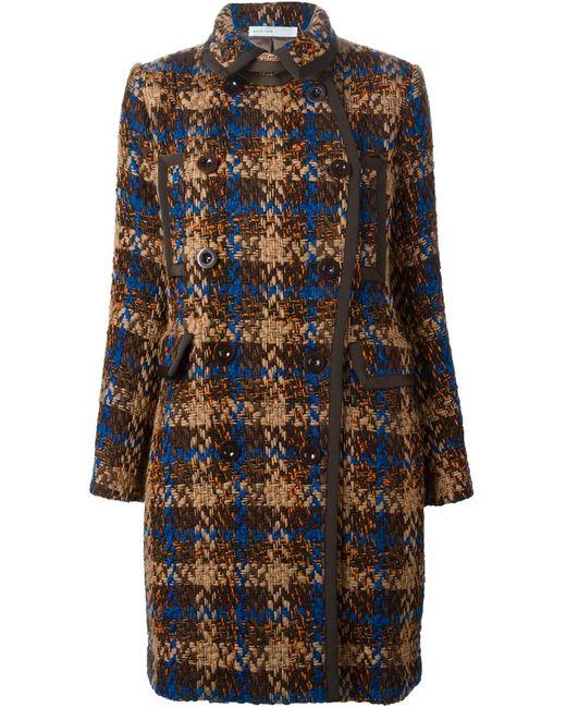 Sacai Luck | Женское Коричневый Tweed Coat