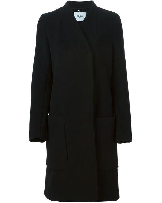 Dondup | Женское Чёрное Двубортное Пальто