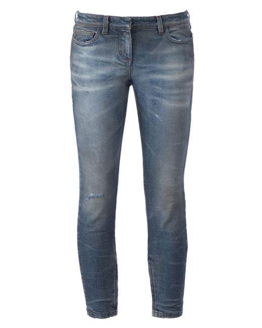 Faith Connexion   Женское Синий Skinny Jeans