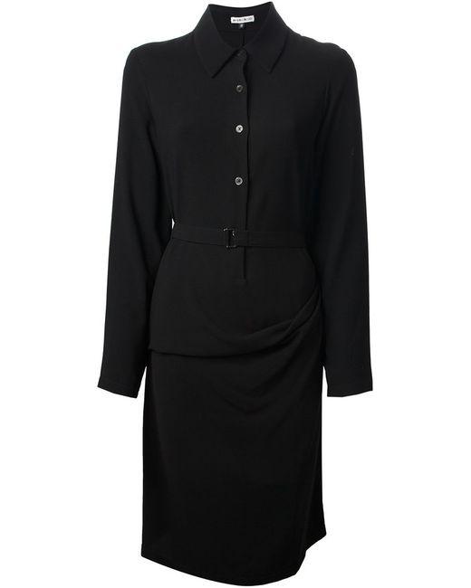 Ann Demeulemeester | Женское Чёрный Shirt Dress