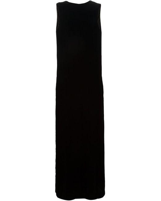 Vera Wang | Женское Чёрный Velvet Column Gown