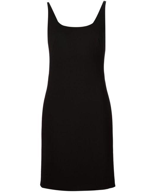 Tomas Maier | Женское Чёрный Sleeveless A-Line Dress