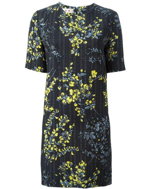 Marni | Женское Чёрный Print Dress