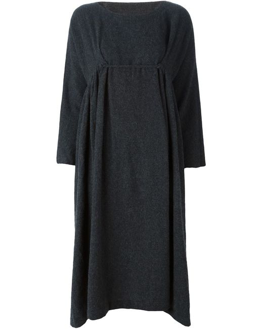 DANIELA GREGIS | Женское Серое Платье Свободного Кроя