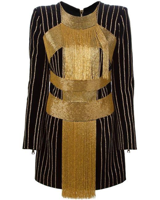 Balmain | Женское Чёрный Sequin Dress
