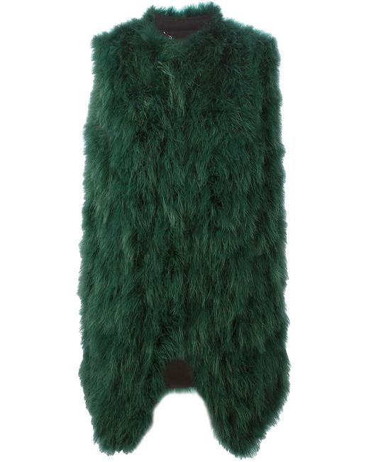 Giorgio Brato | Женский Зелёный Пуховый Жилет