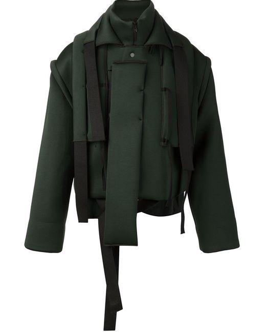 CRAIG GREEN | Мужская Зелёная Мешковатая Стилизованная Куртка