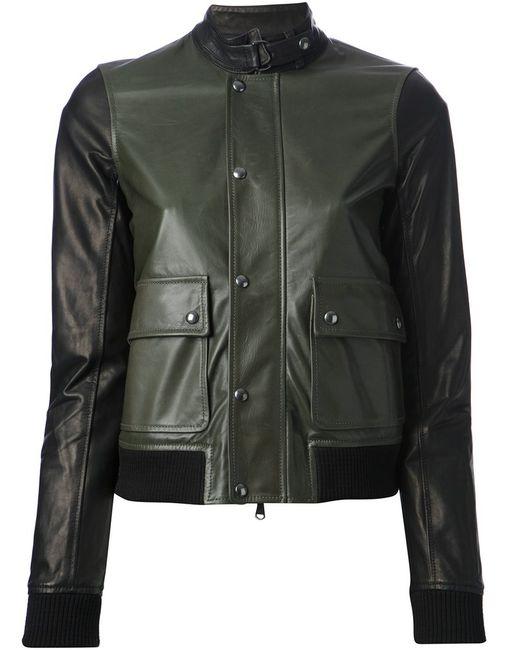 Diesel Black Gold | Женская Зелёная Куртка Lapull