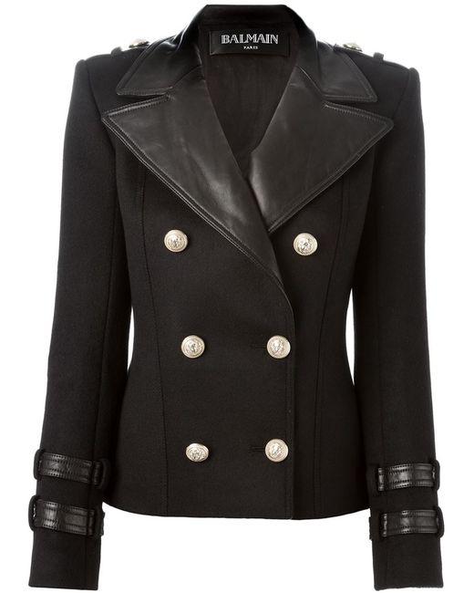 Balmain   Женское Чёрный Double Breasted Blazer
