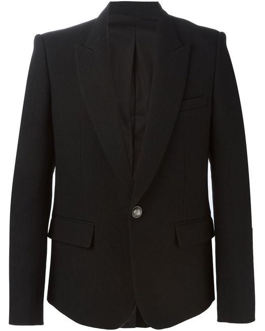 Balmain   Мужское Чёрный Classic Formal Blazer