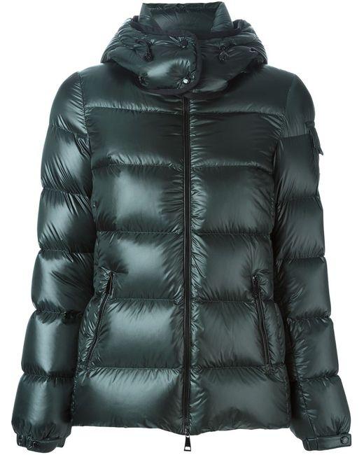 Moncler   Женское Зелёный Berre Hooded Padded Jacket