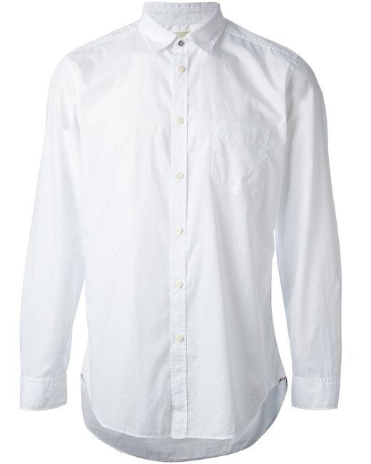 Diesel | Мужская Белая Классическая Рубашка